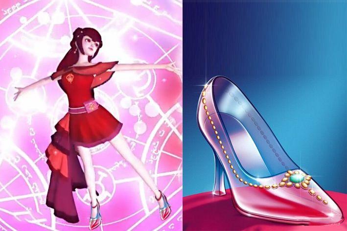叶罗丽:当公主们换上新鞋子,王默很简约,齐娜像童话中图片