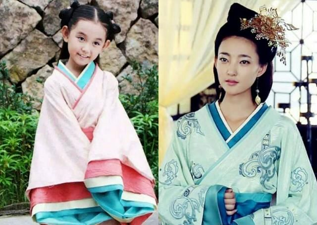 在电影《宫锁沉香》中,蒋依依饰演赵丽颖的小时候,张子枫饰演周冬雨