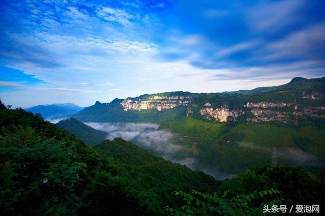 乌龙山大峡谷