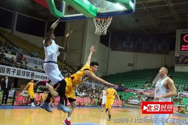 2017年nbl全国男子篮球联赛开赛 贵州森航vs福建闪电