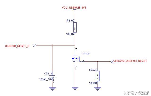 升压开关(n-mos): pwm波控制升压芯片n-mos的通断.