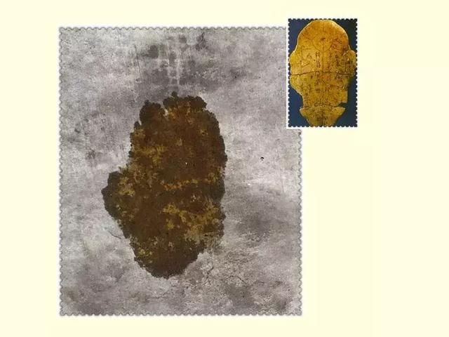 脚印所融合摩擦组成的,下面便是他所观察到的图景以及由此联想到的图片