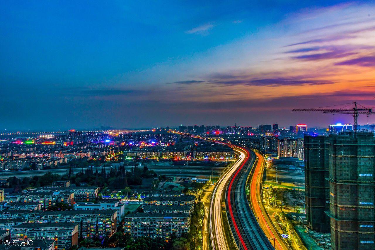 芜湖美丽夜景,临江风景,霓虹?#20102;?