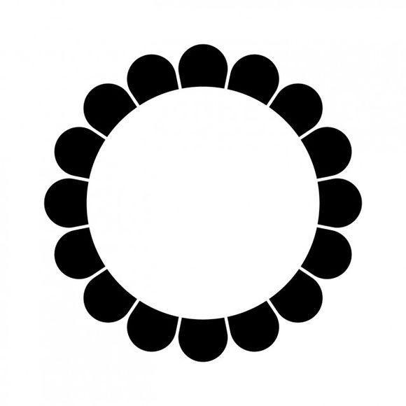 望月氏将八颗星体围绕着中间星体的九曜纹看做是满月的象征,与其氏族