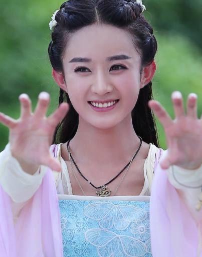 赵丽颖最美古装造型:碧瑶垫底,玉无心第三,她娇艳至极