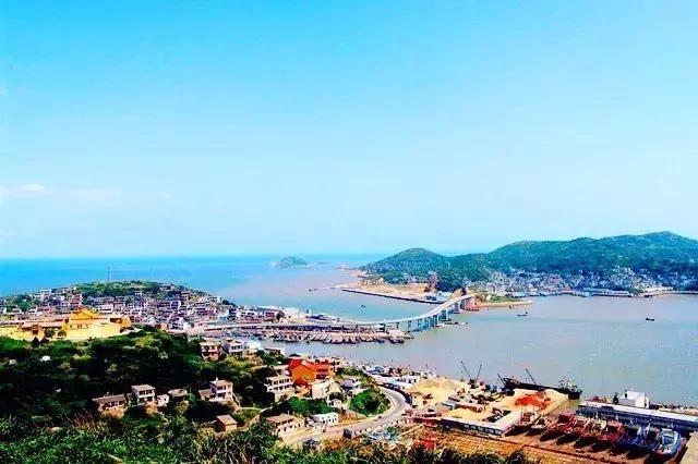 海上花园城市海洋文化名城舟山