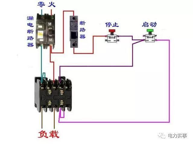 断路器电路图大全 电机接线不求人 非常值得收藏!