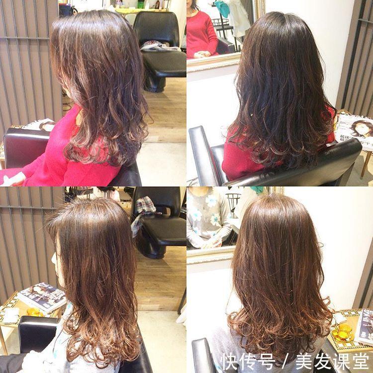 2017最流行的短发与长发的烫发发型