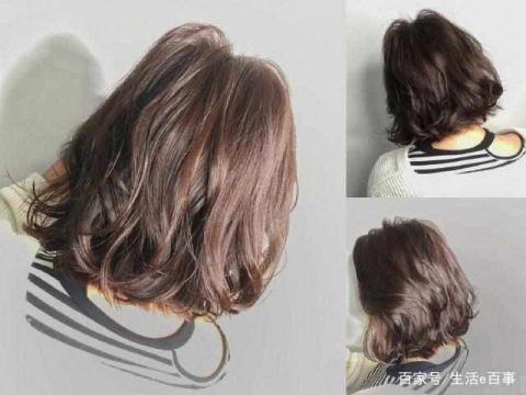 2019年最流行的几款短发烫发型吸晴显气质图片