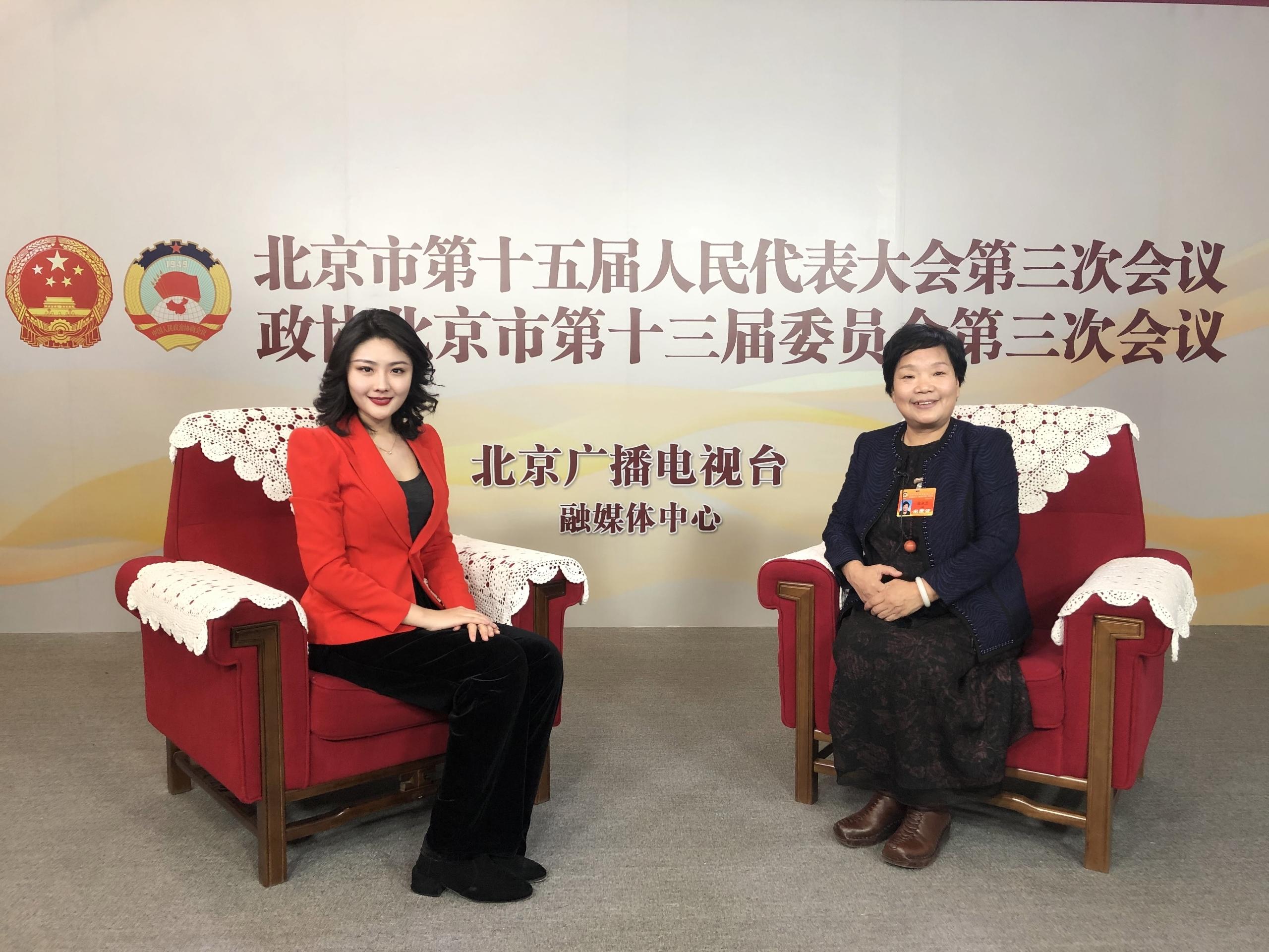 北京市政协委员徐淑兰:北京城市副中心夜景照明提升工程