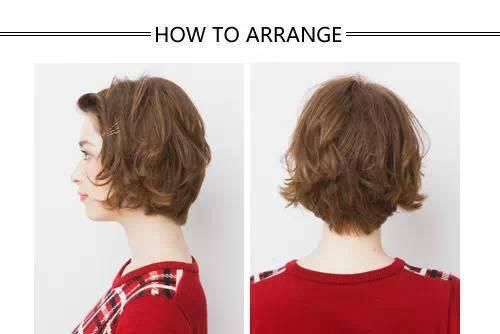 四款长发扎法教程,半扎头发最甜美!