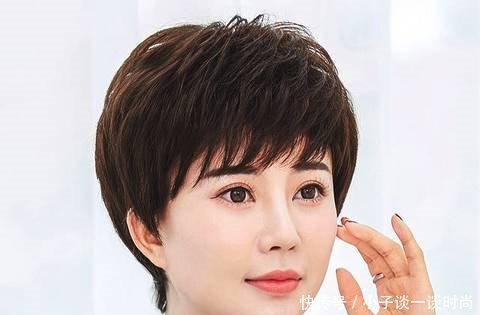 白发越来越多,染发也危害着身体健康,不如选择这样一种时髦减龄的发型图片