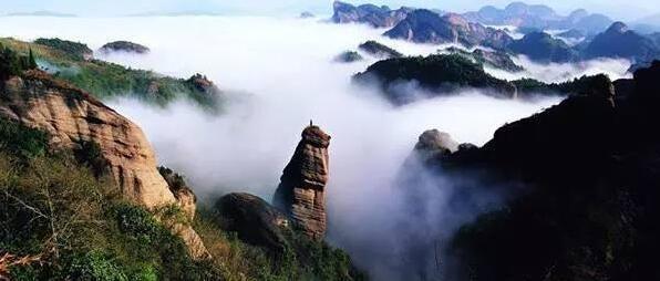 佛子山风景区 国家4a级风景区,位于外屯乡境内,距县城28千米.