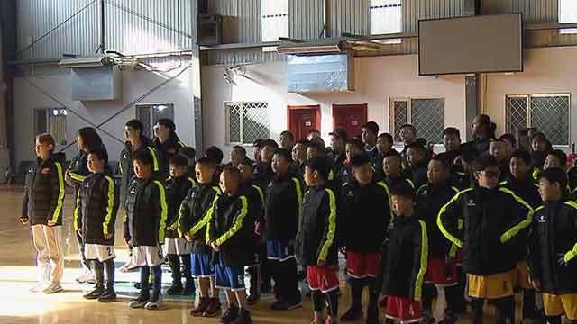 《天天体育》20200122北京大学生篮球公益行在京开营