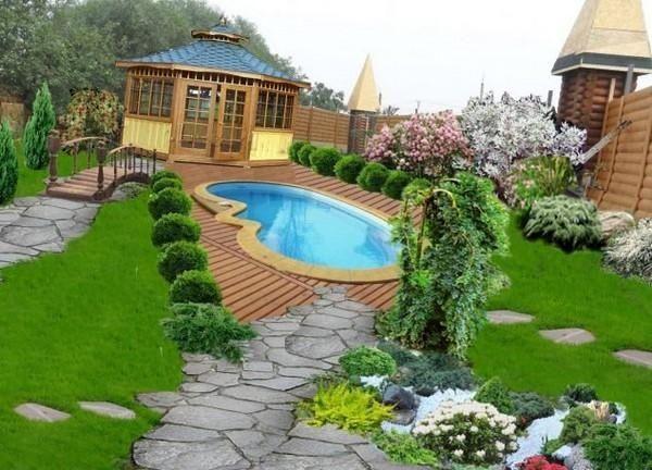 美妙的后院景观设计,瞬间抓住客人的注意力