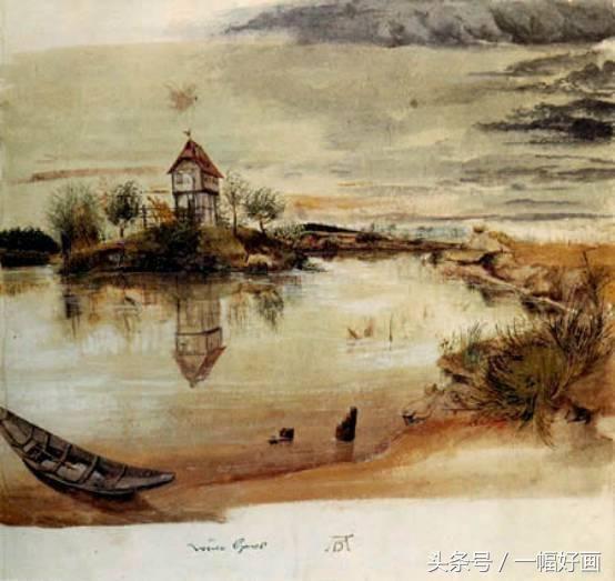 水彩风景画有个很重要的特点就是注重写生.