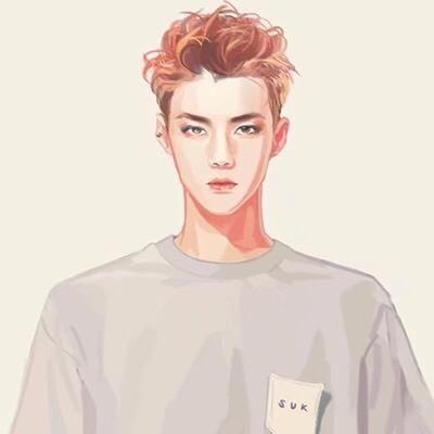 exo手绘图,你集齐了吗?