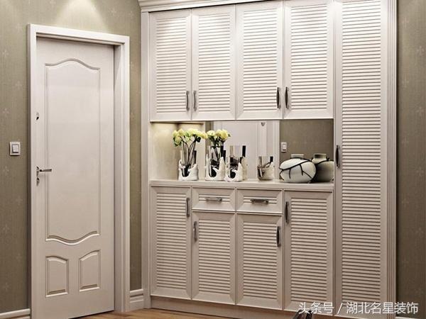 最实用的玄关鞋柜设计大全,小户型也要有个好脸面!