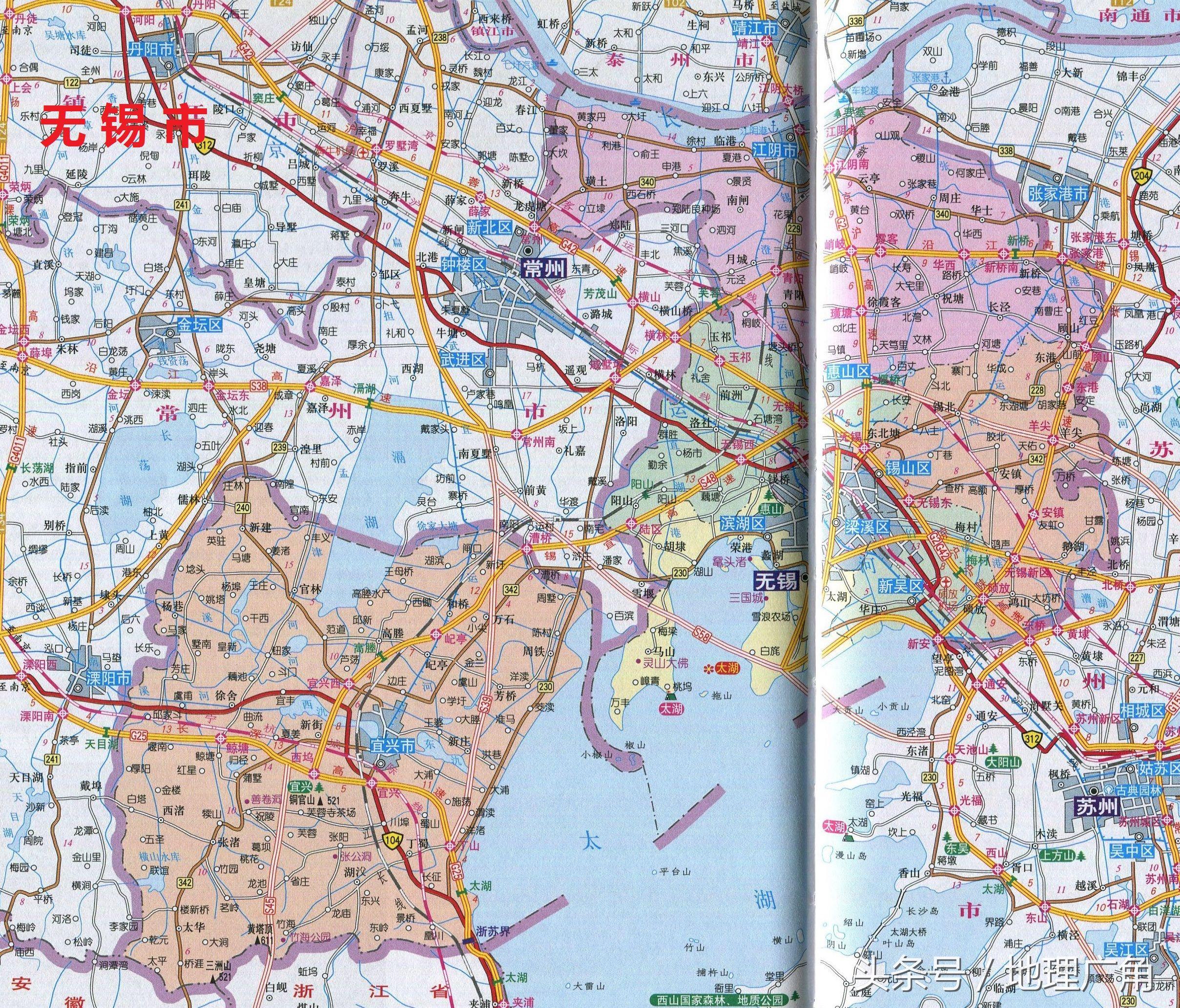 淘宝免费模板 > 江苏地图全图高清_江苏地图高清版大图片  江苏省无锡