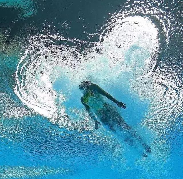 自由泳游不快?因为自己设置的阻力自己在承受!