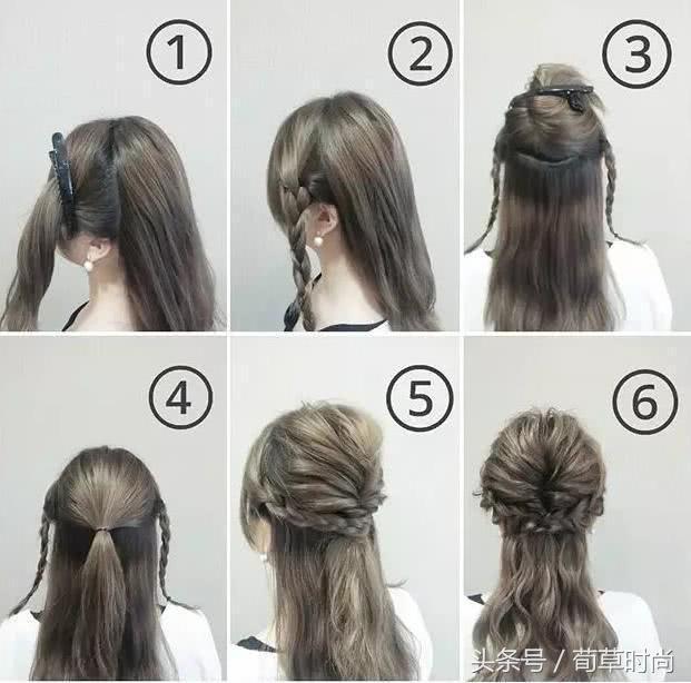 长发短发怎么编好看?夏天头发这么编简单又好看,编头发方法大全