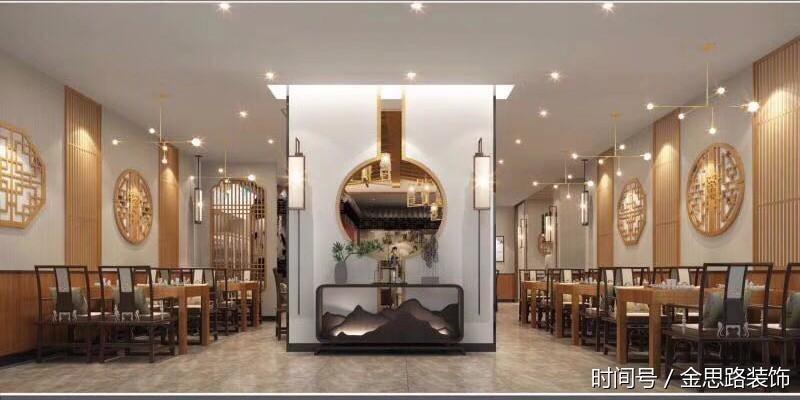 合肥餐饮店装修设计——简约有品位的徽式家宴楼赏析图片