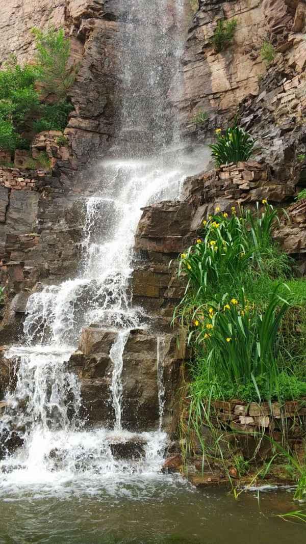 河北沙河桃花源风景区 北方水世界避暑好去处