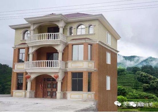 农村自建房,中式庭院pk欧式小洋楼,你更喜欢哪个?图片
