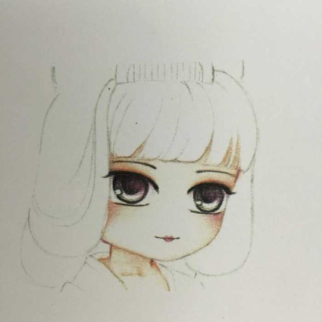 超萌古风q版美女手绘教程学习