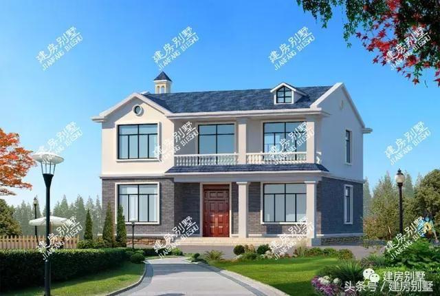 农村自建房屋造价我想盖一栋占地面积120平米左右的两层小别墅毛坯