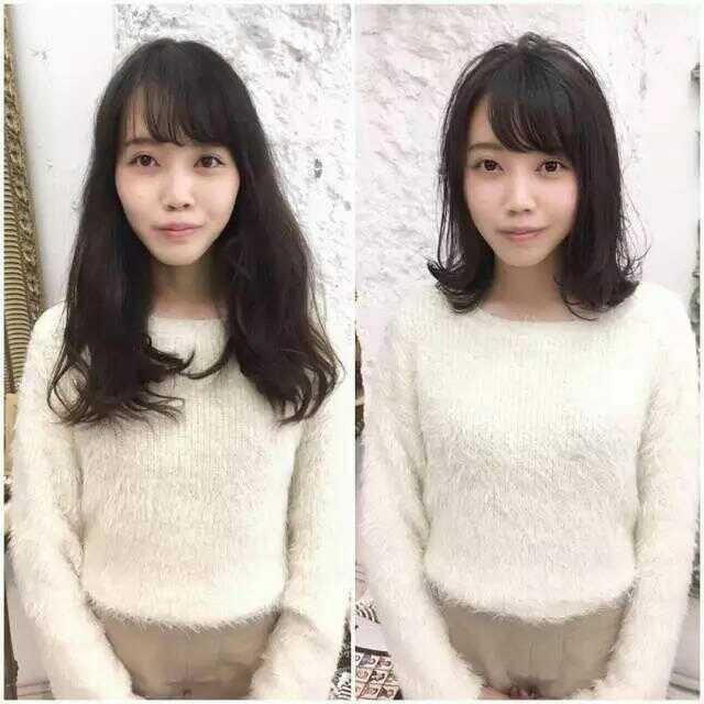 1张对比图告诉你,长发和短发哪个更减龄图片