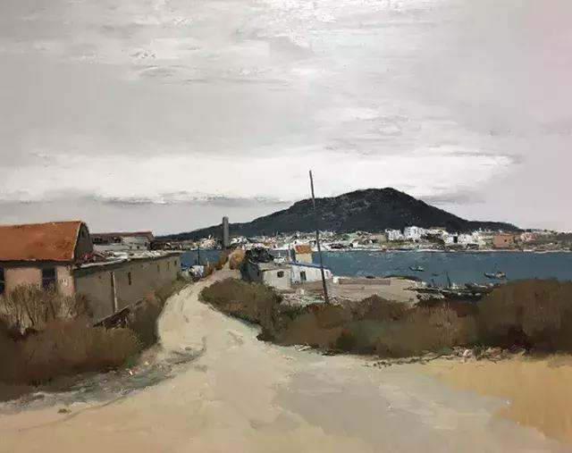 写意油画风景 | 本来艺术家 · 蔡涛