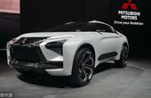 三菱 e-evolution概念车亮相