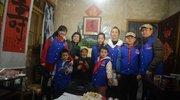洪江区志愿者陪伴抗战老兵过生日