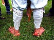 解放军制胜神器:绑腿,有什么用?为什么现在都不用了?