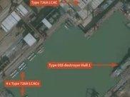 一幅最新外国卫星图,爆出中国海军惊天秘密!