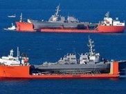 美国两艘残废驱逐舰不期而遇,上百年一见的巧合充满喜感