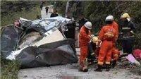 广西山体崩塌致6死9伤