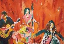 法国大小姐乐队用经典歌曲传播法国文化