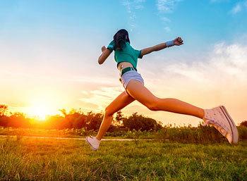 吃动平衡 保持身体健康