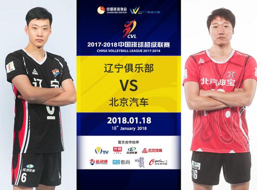 【回放】辽宁俱乐部男排VS北京汽车男排