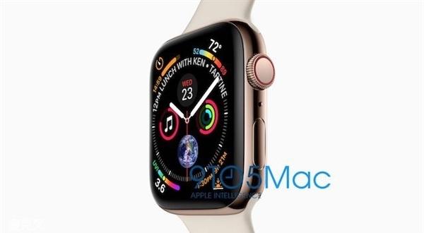 苹果新手表Watch 4外形曝光:圆形表盘别想了