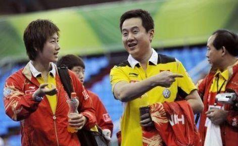 前国乒一姐曹燕华,与施之皓离婚,今乒乓球事业