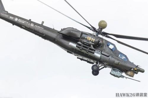 分毫毕现:远征叙利亚的米-28UB武装直升机