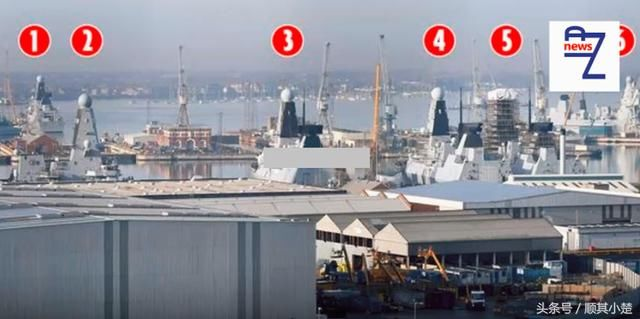 All electric propulsion type 45 destroyer collective