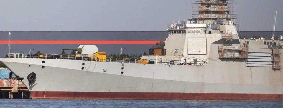 055没上电磁炮无需遗憾 中国未来必有超级巨舰
