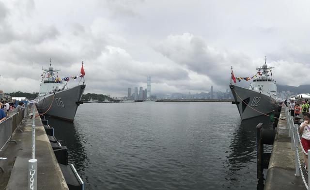 中国未来数十年全靠这4型舰 齐聚香港不简单(图)