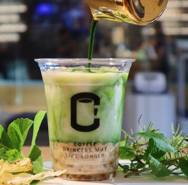 S-body&C.coffee我们的小店有很多创意饮品