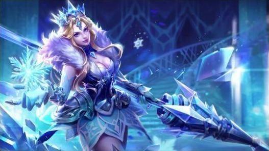 《王者荣耀》冰冠公主高贵来袭,特效炸裂成欧皇专属! 游戏资讯 第7张