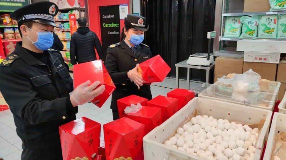 元宵节前,顺义区市场监管局开展节令食品安全专项检查!